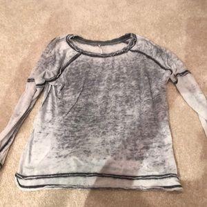 Free people lightweight sweatshirt